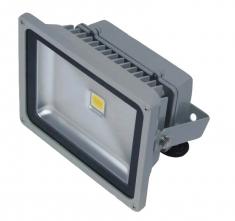 Venkovní LED reflektor 50W, bílá