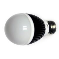 LED 3W, 230V, patice E27, 160lm, černá