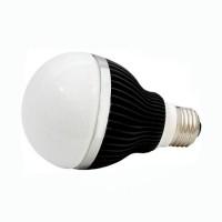 LED 5W, 230V, patice E27, 240lm, černá