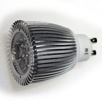 LED 3W, 230V, patice GU10 s límcem 2800K