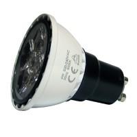 LED 5W, 230V, patice GU10, 260lm, 3000K