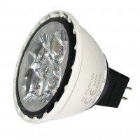 LED 5W, 12V, patice GU5,3, 260lm, 3000K